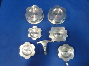 Rare 7 piece Shelby Super Snake Billet Aluminum Engine Cap Set free shipping