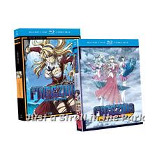 Freezing: Complete Anime Series Seasons 1 & 2 Vibration DVD / BluRay Set(s) NEW!