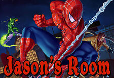 016 MARVEL THE AMAZING SPIDERMAN PETER PERSONALIZED CUSTOMIZED DOOR ROOM POSTER