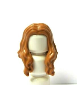 Lego Female Girl Minifigure Hair Wig Long  Flesh Nougat Over The Shoulder