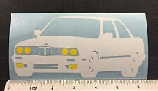 BMW e30 Vinyl Decal Sticker 3 series 318is 325is