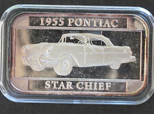 1997 Silver Towne 1955 Pontiac Star Chief Silver Art Bar P0279