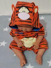 Disney Baby Strampler Spieler Overall Playsuit Jumpsuit Romper Tigger Gr 62