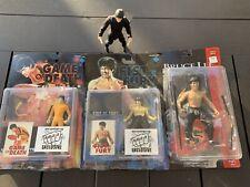 Bruce Lee Figures Lot Of 4
