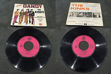 Disque 45 tours The Kinks - Dandy - EP PNV 24177