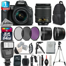 Nikon D5600 DSLR Camera + 18-55mm VR + 1yr Warranty + Filters + 64GB -Saving Kit