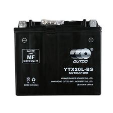 YTX20L-BS HIGH PERFORMANCE AGM MOTORCYCLE BATTERY for HARLEY HONDA YTX20LBS