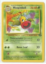 Pokemon Unlimited Edition Jungle set Weepinbell 48/64 uncommon NM Condition