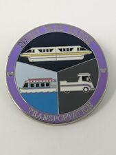 Monorail Parking Team Boat Disney Park Badge Transportation Mystery LR Pin