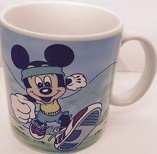 Mickey Mouse Jogging Collector Cup Walt Disney Applause 1986 Coffee Mug Item3094