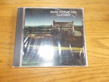 DAVID MICHAEL ROSS CD GUITARO BRAND NEW SEALED