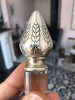 Rare Tiffany & Co C 1917 Art Nouveau Silver Decanter Stopper 800mmx250x210 VGC