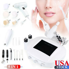 5in1 Facial Machine Vacuum Spray Galvanic Brush Wrinkle High Frequency System US