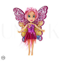 "Princess 6"" Fairy Doll with Wings & Glitter Dress - Small Toy Doll Xmas Gift"