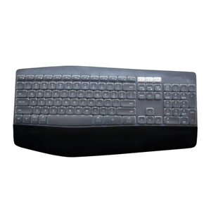 Waterproof dustproof Clear Silicone Keyboard Protector Cover for Logitech MK850