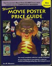WARREN'S MOVIE POSTER GUIDE by Jon R Warren 4th ed. 1997