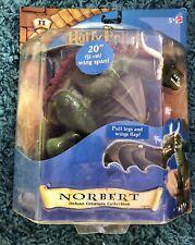 Sealed Mattel 2001 Harry Potter Sorcerer Stone Norbert Magical Action Figure Nib