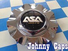 ASA by BBS WHEELS Chrome Center Caps # EM7 Custom Wheel [12] Center Cap (1)