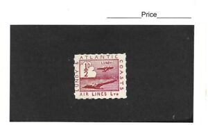 Lundy 1931 Lundy & Atlantic Coasts Airlines Ltd 1/2d Red  MNH