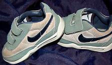 Nike Kinder Schuhe, Babyschuhe, Gr Eur 21 Klettverschluß grün beige blau NK197