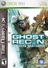Xbox 360 Tom Clancys Ghost Recon Advanced Warfighter VideoGames