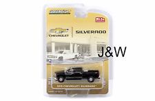 Greenlight Chevrolet Silverado 2015 avec boîte à outils et Attelage Noir 51109 B