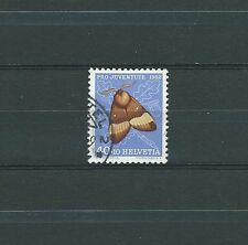 SWISS / SUISSE - PAPILLONS 1952 YT 530 / MI 579 - USED - COTE 8,00 €