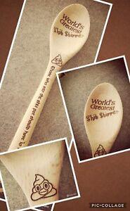 world's greatest s*** Stirrer spoon . novelty gift secret Santa can be...