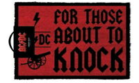 208289 AC/DC For Those About To Knock Doormat GLOSSY POSTER  AU