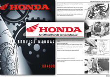Honda XR400R Service Workshop Repair Manual XR 400 R XR400 Factory Shop
