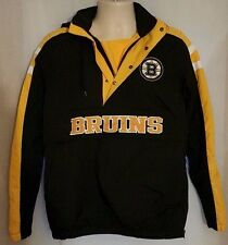 Boston Bruins NHL Men's Qauter Zip Black Breakaway Jacket - Size: Small