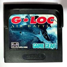 G-LOC: AIR BATTLE SEGA GAME GEAR 1991 -PAL-