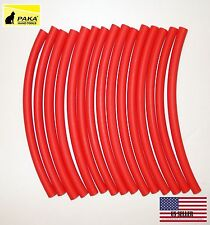 "10 FEET  - 3/8"" (9.5 mm) DUAL WALL RED Heat Shrink Tubing  3:1  Glue Lined Tubes"