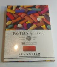 Sennelier Extra Soft Pastels Cardboard Box Set of 30 Half Sticks Assorted Colors