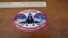 CHALLENGER BRAND GIBSON SPACE PATCH SALESMAN COPY BX Y 158