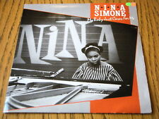 "NINA SIMONE - MY BABY JUST CARES FOR ME  7"" VINYL PS"