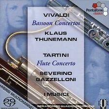 Klaus Thunemann - Bassoon Concertos / Flute Concertos [New SACD] Hybrid SACD