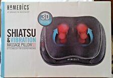 HoMedics SP-105H 3D Shiatsu and Vibration Massage Pillow with Heat New in Box