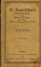 Grimme, De Koppelschmid, Lustspiel i Sauerland Mundart, Schöningh Paderborn 1890