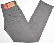 Levi's Jeans Men 33x30 514 Straight Fit Stretch Denim 5-Pocket Courier Grey P119