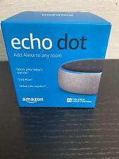 Amazon, Echo Dot 3rd Generation New With Box Sealed