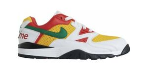 Supreme Nike Cross Trainer Low White/Yellow/Red - Men's 12- New/DS (Confirmed)