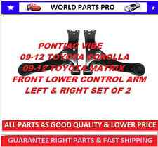 Front Control Arm FOR 2009-2012 TOYOTA COROLLA(FITS TOYOTA MATRIX 09-12) PAIR