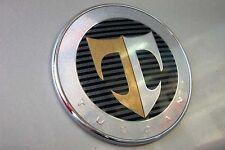 """Hyundai Tiburon Coupe 2007-2008 GENUINE OEM TUSCANI """"T"""" HOOD Emblem 863202C700"""