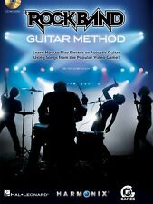 Rock Band Guitar Method - Learn How to Play Electric or Acoustic Guita 000696053