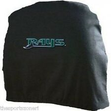 Tampa Bay Rays Head Rest Covers ( Set of Two )