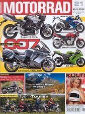 M0621 + YAMAHA TDM 900 A vs. BMW F 800 ST und andere + MOTORRAD 21/2006