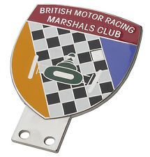 British Motor Racing Marshals Club car grille badge