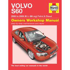 Volvo S60 Haynes Manual 2000-09  2.0 2.3 2.4 2.5 Petrol 2.4 2.5 Diesel