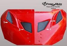 NEW FROGZSKIN POLARIS IQR 600RR SNOWMOBILE 4-PC HOOD VENT KIT F0091